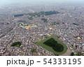 仁徳天皇陵他古墳群を空撮 54333195
