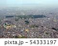 仁徳天皇陵他古墳群を空撮 54333197