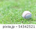 野球イメージ ボール 54342521