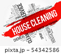 House Cleaning word cloud collage 54342586