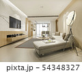 modern dining room and living room luxury decor 54348327