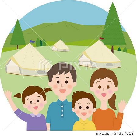 家族 キャンプ 54357018