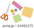 手芸用品のイラストセット 54362275