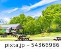 青空 テラス 野外 カフェ イメージ 【長野県】 54366986