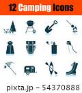 Camping Icon Set 54370888