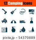 Camping Icon Set 54370889
