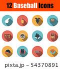 Baseball Icon Set 54370891