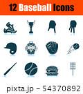 Baseball Icon Set 54370892