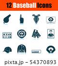Baseball Icon Set 54370893