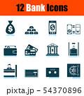 Bank Icon Set 54370896