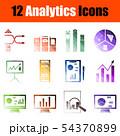 Analytics Icon Set 54370899