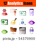 Analytics Icon Set 54370900
