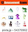 Amusement Icon Set 54370902