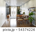 modern  living interior design. 54374226