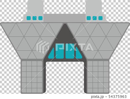 東京大廈,地標,建築插圖/東京國際展覽中心,國際展覽中心 54375963