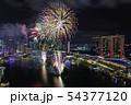 シンガポール・マリーナベイの夜景と花火 NDPリハーサル  54377120