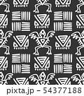 Seamless aztec vector pattern. 54377188