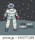 Astronaut, vector illustration. 54377189