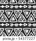 Seamless aztec vector pattern. 54377227
