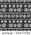 Seamless aztec vector pattern. 54377430