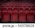 コンサートホールの座席 54378628