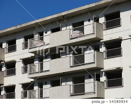 廃墟と化したマンモス団地の住棟 54380934