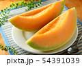 メロン 皿盛り デザート 54391039
