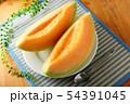 メロン 皿盛り デザート 54391045