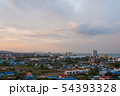 Aerial view scenic landscape of the city with 54393328
