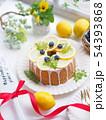 レモンケーキでティータイム 54393868