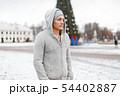 フード 頭巾 ずきんの写真 54402887