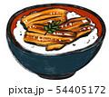 うな丼 イラスト 54405172