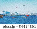 横浜の海 54414891