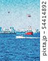 横浜の海 54414892