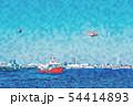 横浜の海 54414893