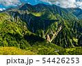 弓折岳稜線から見る槍ヶ岳と鏡平 54426253