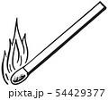 Burning Match 54429377