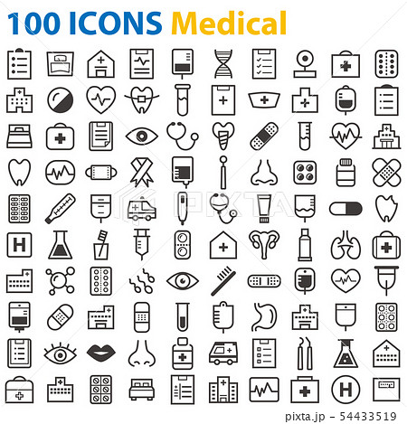 100 ICONS Medical 54433519