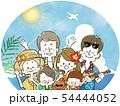 三世代家族旅行-リゾート 54444052