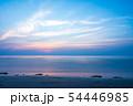 岩屋海岸の夕暮れ【福岡県】 54446985