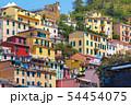 Picturesque view of Riomaggiore, Liguria, Italy 54454075