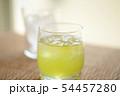 お茶 緑茶 玉露 新茶 夏 氷 アイス ソフトドリンク 飲み物 ドリンク 冷たい 季節 54457280