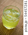 お茶 緑茶 玉露 新茶 夏 氷 アイス ソフトドリンク 飲み物 ドリンク 冷たい 季節 54457281
