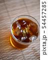 お茶 麦茶 新茶 夏 氷 アイス ソフトドリンク 飲み物 ドリンク 冷たい 季節 54457285