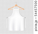 White Aprons Isolated Transparent Background 54457500