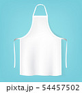 White Aprons Isolated Mint Background 54457502