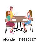 話し合いをする 女性 イラスト 54460687