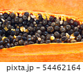 Close up at seeds of papaya fruit. 54462164