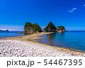 (静岡県)堂ヶ島 瀬浜海岸・三四郎島 トンボロ 54467395
