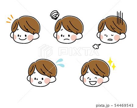 男の子表情セット 54469543